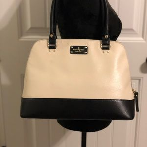 Kate spade wellesley bag - cream and black